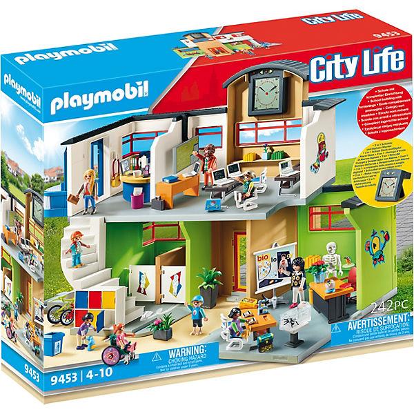 Fonkelnieuw PLAYMOBIL® 9453 Große Schule mit Einrichtung, PLAYMOBIL City Life SX-47
