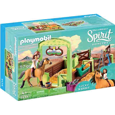 PLAYMOBIL® 9478 Spirit - Pferdebox Lucky & Spirit