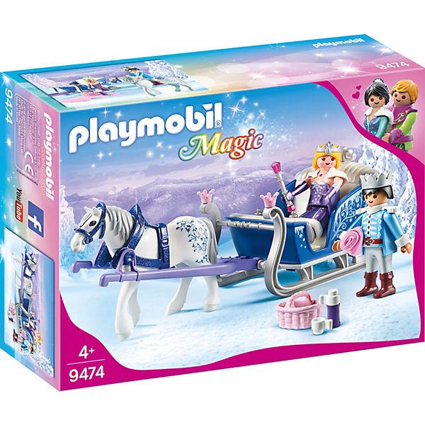 Playmobil 9474 Schlitten Mit Königspaar Playmobil Princess Mytoys