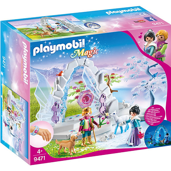 Playmobil 9471 Kristalltor Zur Winterwelt Playmobil Princess Mytoys