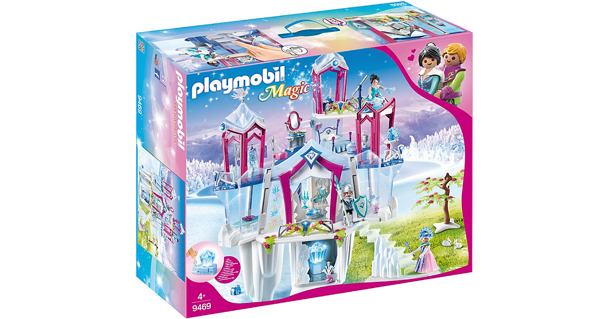 Playmobil · Funkelnder Kristallpalast