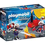 Игровой набор Playmobil «Пожарная служба: пожарные с водяным насосом»