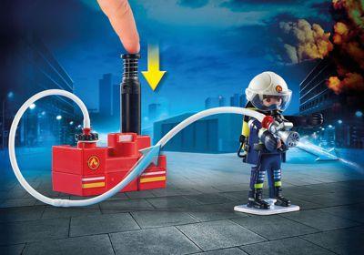 Playmobil 9463 Feuerwehr Leiterfahrzeug Playmobil City Action Mytoys