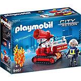 Игровой набор Playmobil «Пожарная служба: огненная водяная пушка»
