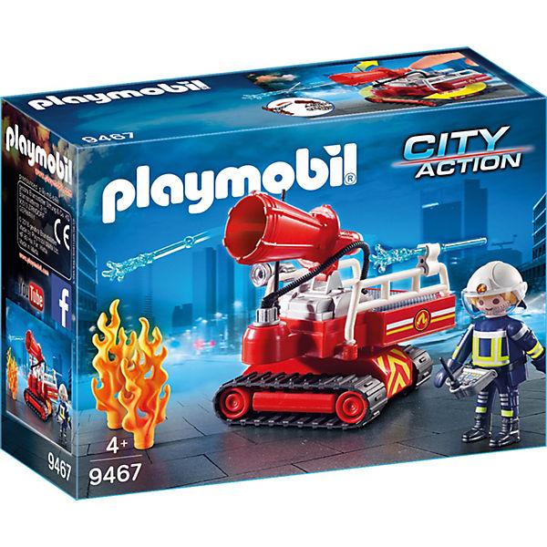 Playmobil 9467 Feuerwehr Löschroboter Playmobil City Action Mytoys