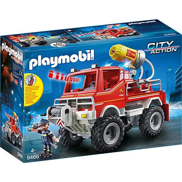 Playmobil 9466 Feuerwehr Truck Playmobil City Action Mytoys
