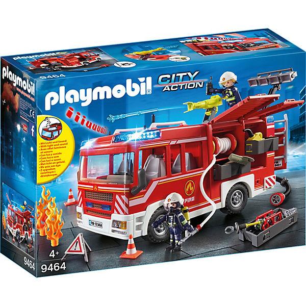 Playmobil 9464 Feuerwehr Rüstfahrzeug Playmobil City Action Mytoys