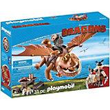 """Конструктор Playmobil """"Драконы: Рыбьенг и Сарделька"""""""