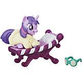 Коллекционная фигурка My little Pony Искорка, с аксессуарами