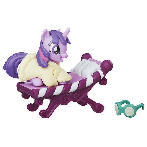 Коллекционная пони My little Pony Искорка, с аксессуарами