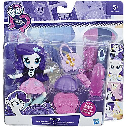 Мини-кукла Equestria Girls Рарити, с аксессуарами от Hasbro