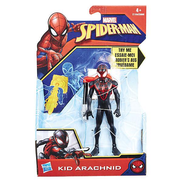 "Фигурка Marvel ""Spider-Man"" Кид Арахнид с интерактивным аксессуаром, 15см"