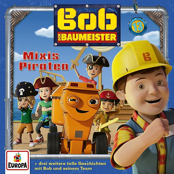 CD Bob der Baumeister 13 - Mixis Piraten