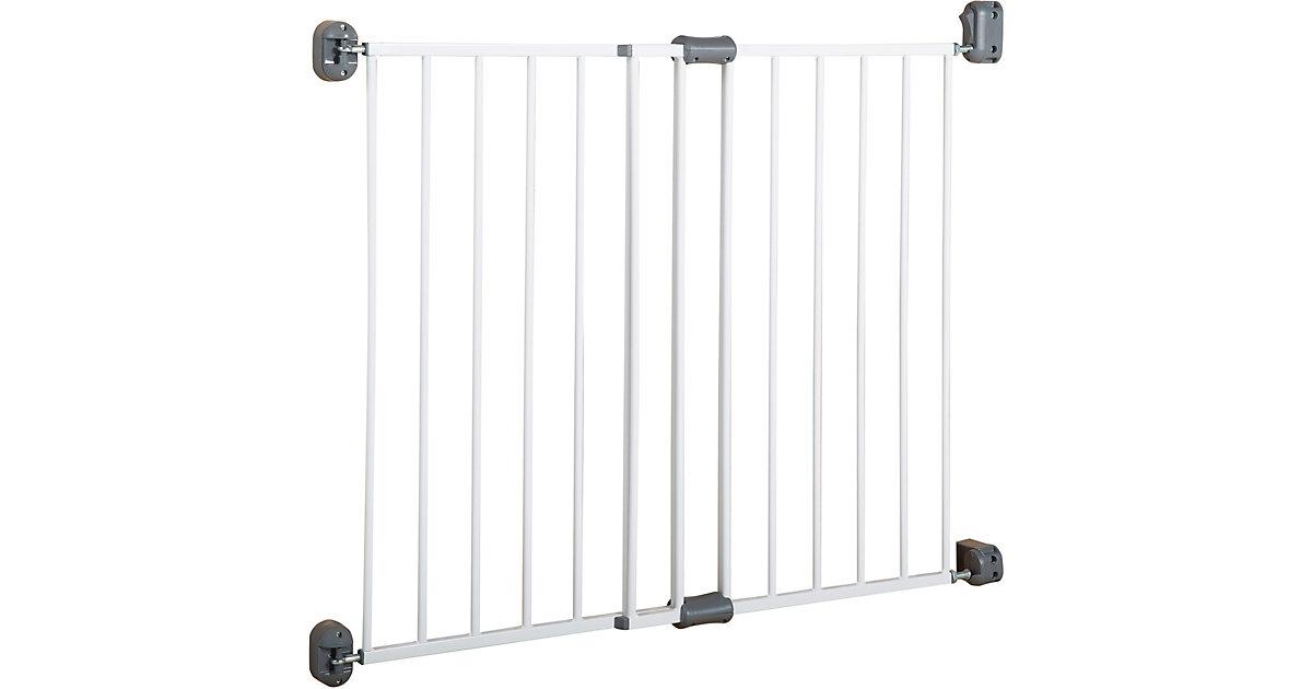 Türschutzgitter Metall Safety Up, weiß, 60 - 97 cm