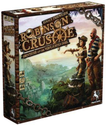 Robinson Crusoes Abenteuer auf der verfluchten Insel