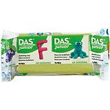 Мягкая масса для моделирования DAS светло-зеленая, 100 грамм