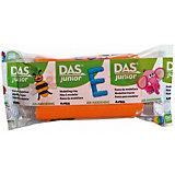 Мягкая масса для моделирования DAS оранжевая, 100 грамм