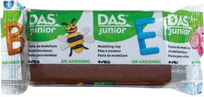 Мягкая масса для моделирования DAS коричневая, 100 грамм