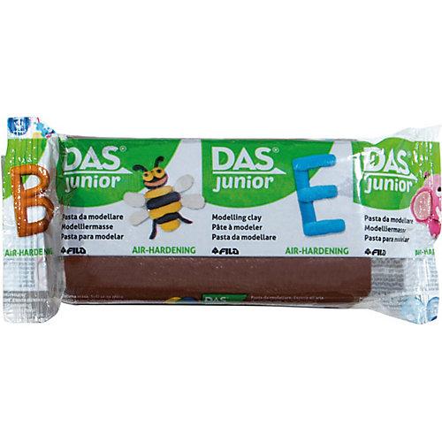 Мягкая масса для моделирования DAS коричневая, 100 грамм от DAS
