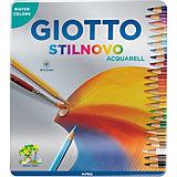 Цветные акварельные карандаши GIOTTO, 24 штук