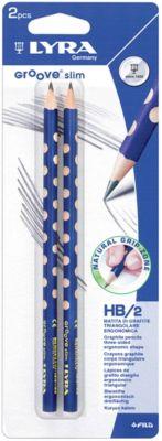 Чернографитные карандаши LYRA с эргономичным захватом, 2 штуки