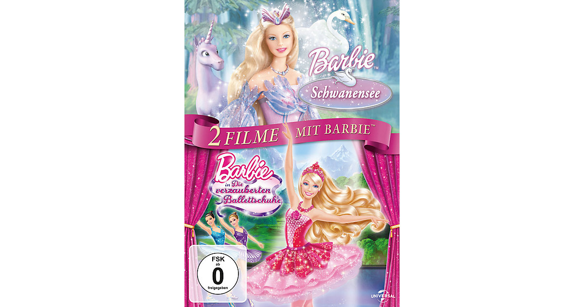 DVD Barbie - Schwanensee & Die verzauberten Ballettschuhe (2 DVDs) Hörbuch