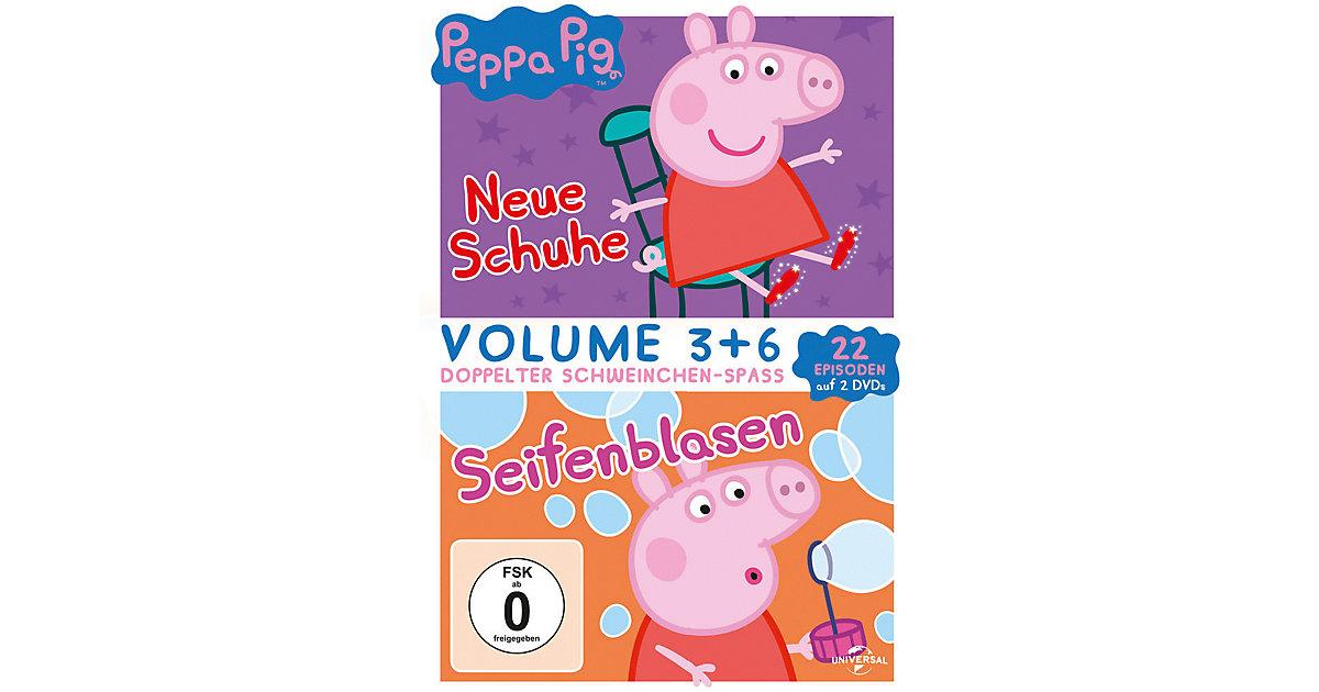 DVD Peppa Pig - Neue Schuhe & Seifenblasen (2 DVDs) Hörbuch