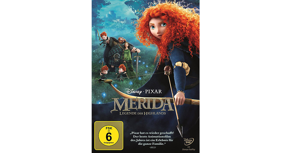 DVD Merida - Legende der Highlands (ohne SC Branding)
