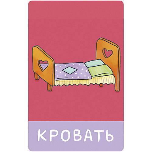 """Обучающие карточки """"Познаем мир вместе"""" Мой мир. 100 слов О. Уткина от Clever"""