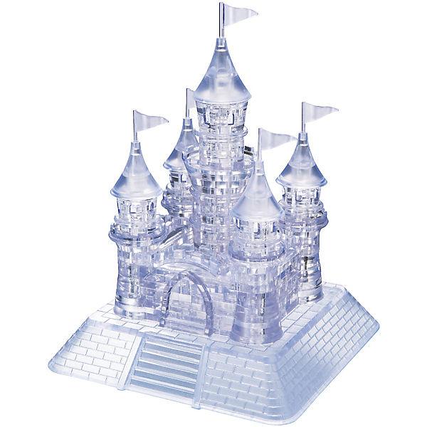 Crystal Puzzle - Schloss Schloss - Transparent, 1e73c3