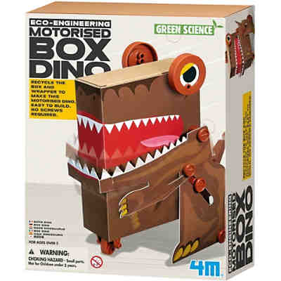 Eco-Engineering - Motorisierter Box-Dino