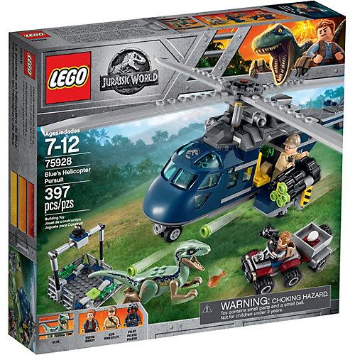 Конструктор LEGO Jurassic World 75928: Погоня за Блю на вертолёте от LEGO