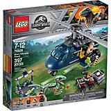 Конструктор LEGO Jurassic World 75928: Погоня за Блю на вертолёте
