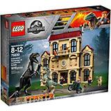 Конструктор LEGO Jurassic World 75930: Нападение индораптора в поместье Локвуд
