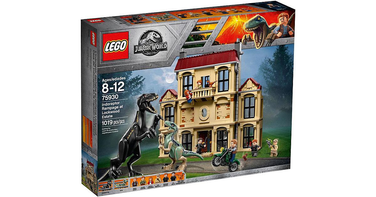 LEGO · LEGO 75930 Jurassic World: Indoraptor-Verwüstung des Lockwood Anwesens