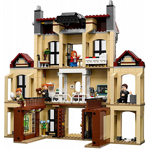 Конструктор LEGO Jurassic World 75930: Нападение индораптора в поместье Локвуд от LEGO