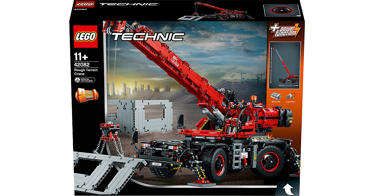 LEGO · LEGO 42082 Technic: Geländegängiger Kranwagen