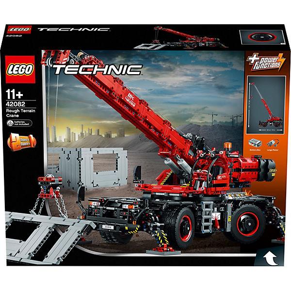 Конструктор LEGO Technic 42082: Подъёмный кран для пересечённой местности