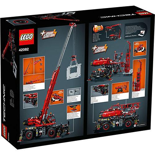 Конструктор LEGO Technic 42082: Подъёмный кран для пересечённой местности от LEGO