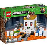 Конструктор LEGO Minecraft 21145: Арена-череп
