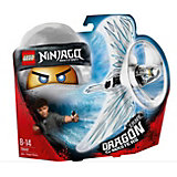 Фигурка с пусковым устройством LEGO Ninjago 70648: Зейн - Мастер дракона