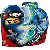 Фигурка с пусковым устройством LEGO Ninjago 70646: Джей - Мастер дракона