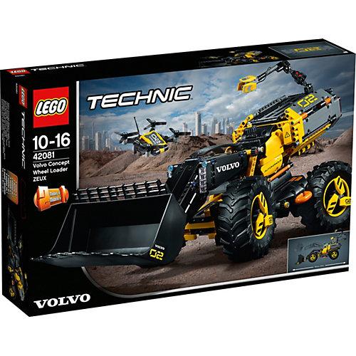 Конструктор LEGO Technic 42081: VOLVO колёсный погрузчик ZEUX от LEGO