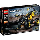 Конструктор LEGO Technic 42081: VOLVO колёсный погрузчик ZEUX