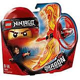 Фигурка с пусковым устройством LEGO Ninjago 70647: Кай - Мастер дракона