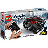 Конструктор LEGO Super Heroes 76112: Бэтмен: Управляемый Бэтмобиль