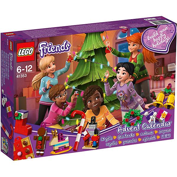 Lego 41353 Friends Adventskalender Mit Weihnachtsschmuck Lego