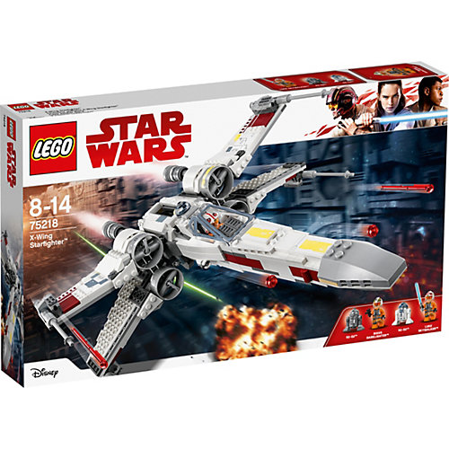 Конструктор LEGO Star Wars 75218: Звёздный истребитель типа Х от LEGO