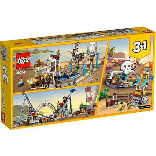 Конструктор LEGO Creator 31084: Аттракцион «Пиратские горки» от LEGO