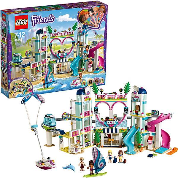Конструктор LEGO Friends 41347: Курорт Хартлейк-Сити